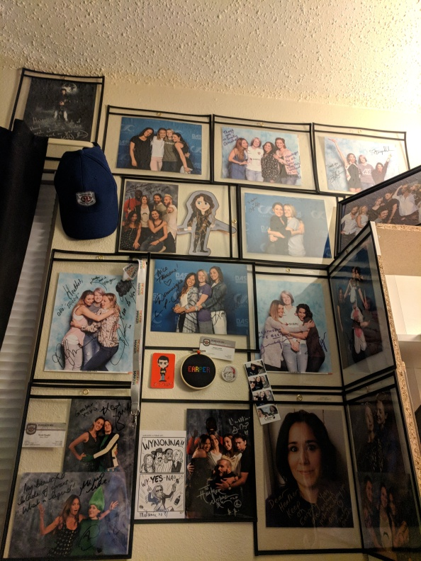 My TV wall